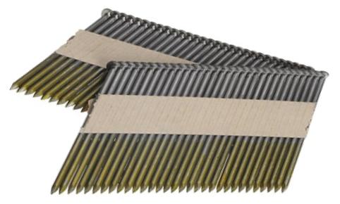 Streifennägel 34° 80 x 3,1 mm Ring/verzinkt 12my ( 2.000 Stück )