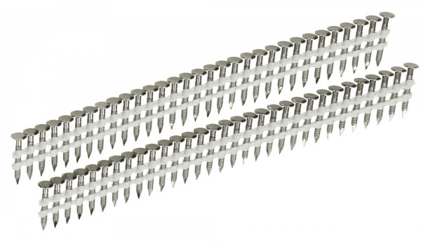 Streifen Haftennägel 20° 2,8 x 25 mm gerillt Edelstahl