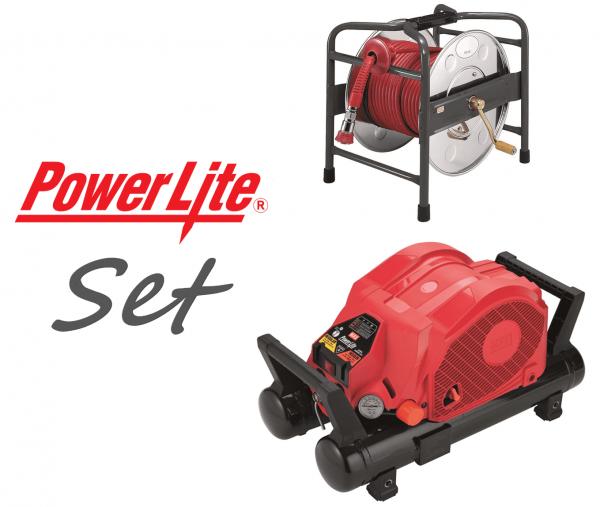 Max Kompressor AKHL 1260E Powerlite Set