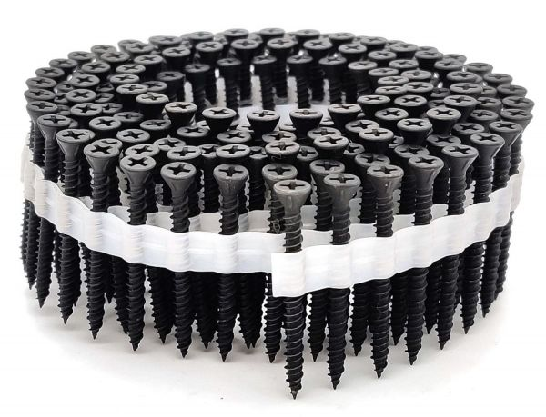 Coil Faserplattenschrauben | phosphatiert | Hi-Lo-Gewinde