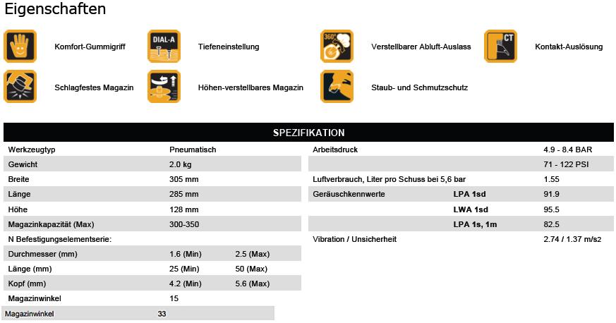 BostitchDatenblattCoilnaglerIC50-1-E