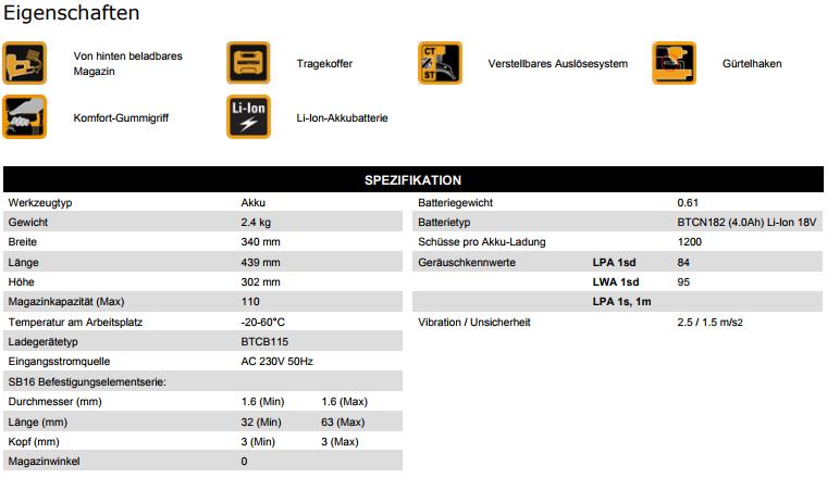 DatenblattStauchkopfnaglerBTCN120