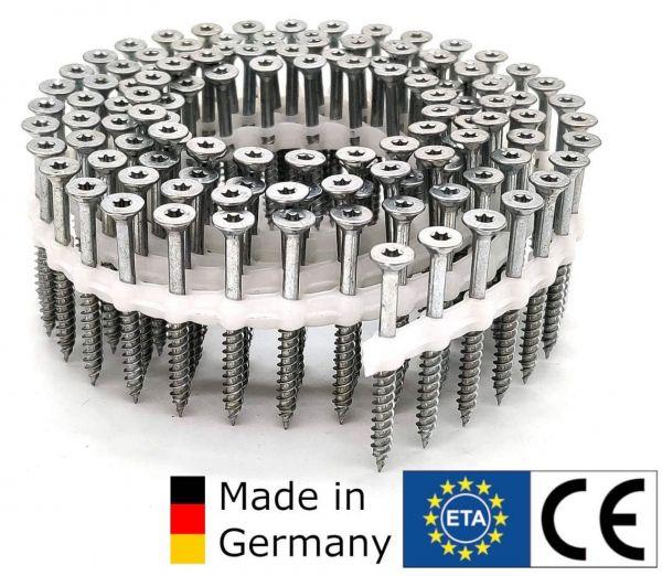 Coil TIMTEC ®- Universalholzbauschrauben | hell verzinkt