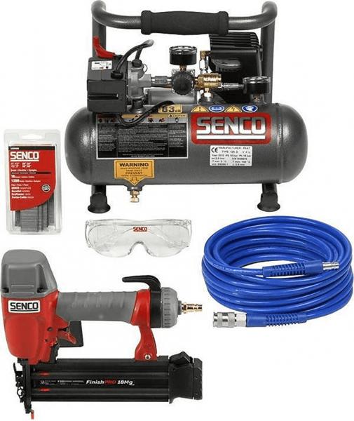 Senco Kompressor Set / AC4504 + FinishPro18 Mg