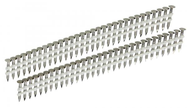 Streifen Haftennägel 20° 25 x 2,8 mm Ring/V2A