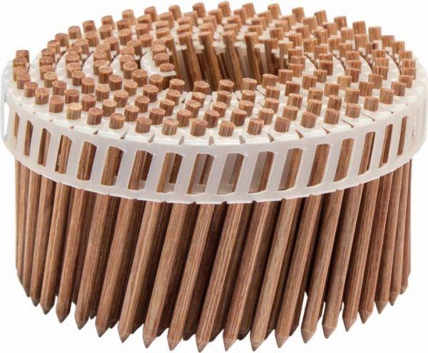 Holz Coilnägel LignoLoc® Holz Buche 3,7 x 38 mm glatt blank
